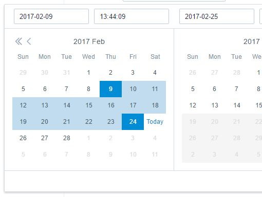 Customizable Datetime And Date Range Picker Plugin - Gemini DatePicker
