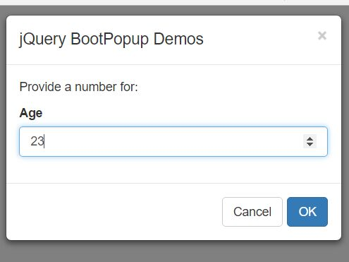 Customizable Dialog Boxes Using jQuery And Bootstrap - BootPopup