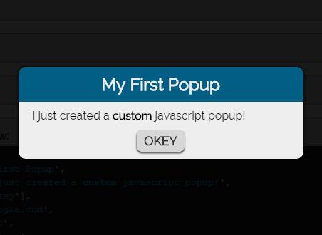 Customizable Dialog Popup Plugin For jQuery - popup.js