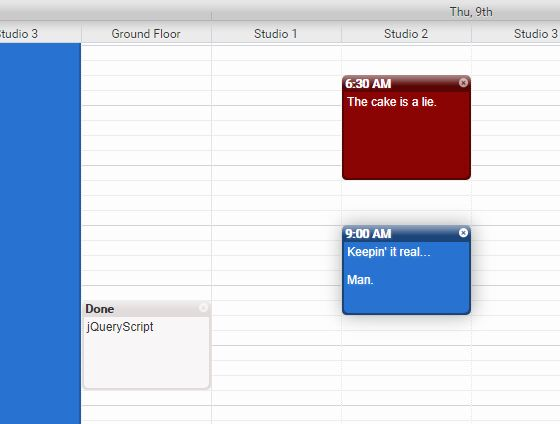 Customizable Event Calendar Plugin For jQuery - Calendar.js