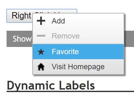 Customizable Right-click Popup Menu Plugin With jQuery - popmenu.js