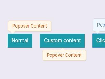 Customizable Tooltip-like jQuery Popover Plugin - alertTs