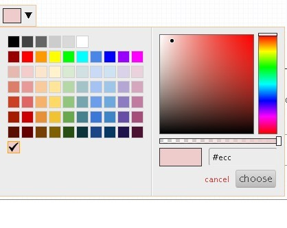 Customizable and Touch-Friendly jQuery Color Picker Plugin - spectrum