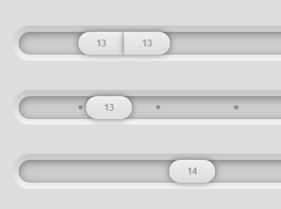 Customizable jQuery Amount Slider Plugin - Input Slider