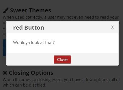 Customizable jQuery Modal Dialog Plugin with CSS3 Animations - jAlert