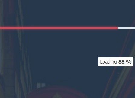 Customizable jQuery Page Loader Plugin - Page Loading