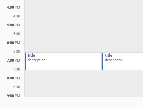 Dynamic Daily Event Calendar Plugin With jQuery - Layoutday