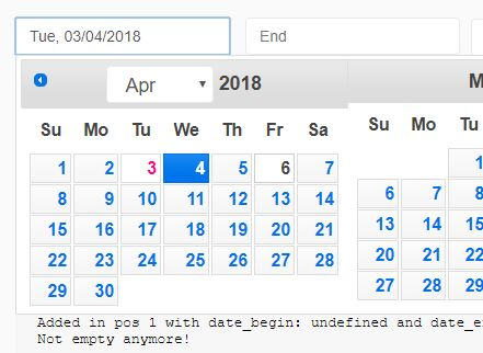Convenient Date Range Picker For jQuery UI - date-ranges-selector