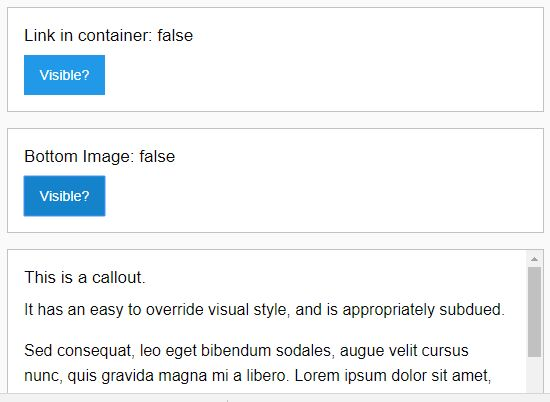 jQuery Plugin For Detecting Elements In The Viewport - Visible js