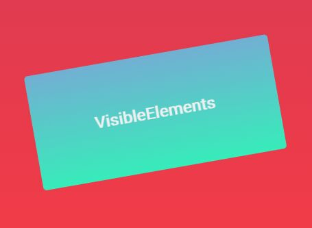 Detect And Manipulate Element Visibility In Browser - VisibleElements