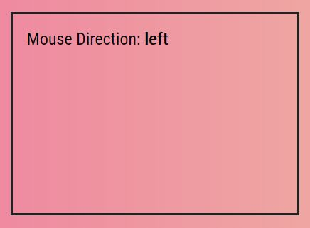 Detect Mouse Direction In jQuery - mouse-direction