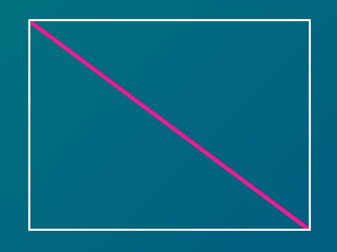 Draw A Diagonal Line Through A Box - jQuery diagonal.js