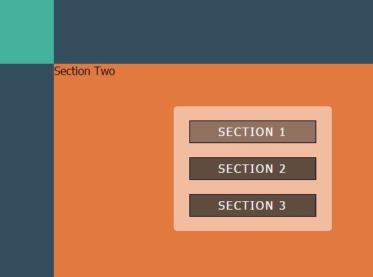Diagonal Section Transition Effect with jQuery Animation - Simple Ascensor