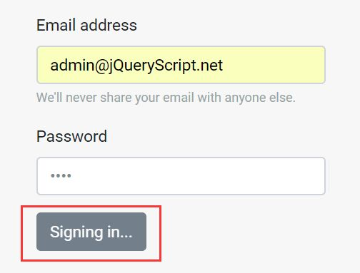 Auto Disable Submit Button On Form Submit - jQuery Disable With