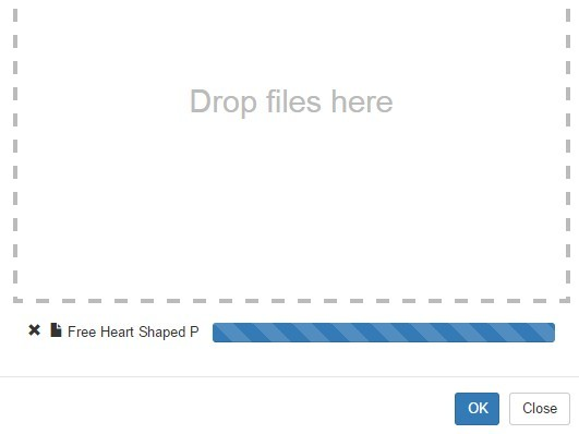 Drag Drop File Upload Dialog With Jquery And Bootstrap Free