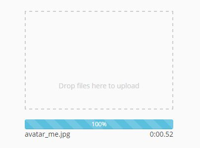 Drag And Drop File Upload Plugin For Bootstrap - dropzone | Free