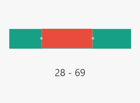 Minimal Draggable Range Selection Plugin For jQuery - d3RangeSlider