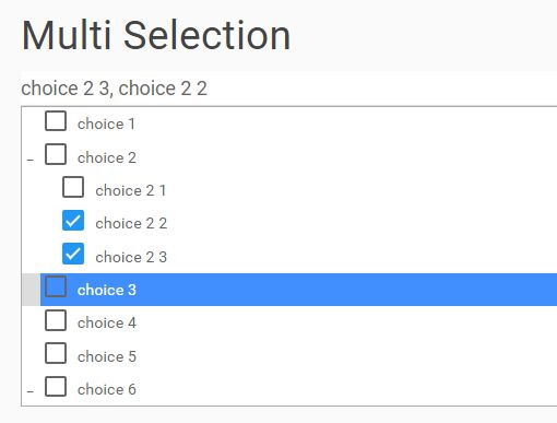 Multi-Select Drop Down Tree Plugin With jQuery - Combo Tree