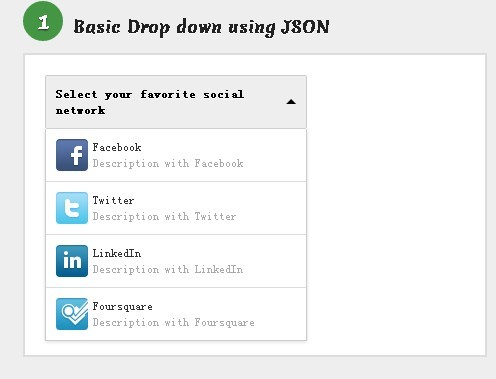 Drop Down Menu with Images Plugin - ddSlick