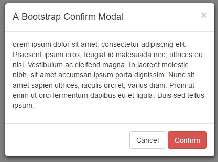 Dynamic Bootstrap Modal Plugin With jQuery - Modal Manager