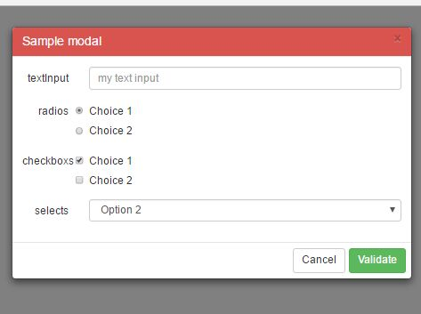 Creating Dynamic Bootstrap Modals In jQuery - ExtendedBootstrapModal
