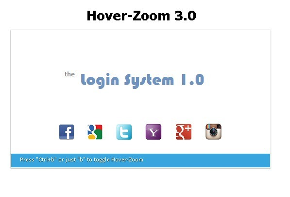 Dynamic Image Zoom Plugin with Run Time Toggle - Hover-Zoom Extended