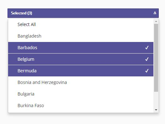 Multi-column Dropdown Selector Plugin For jQuery