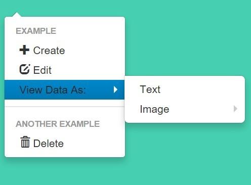 Dynamic Multi-level Context Menu Plugin with jQuery - Context.js