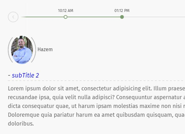 Dynamic Scrolling Timeline Plugin For jQuery - jTLine