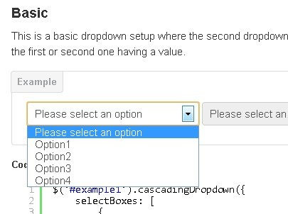 Dynamic jQuery Cascading Dropdown Lists Plugin