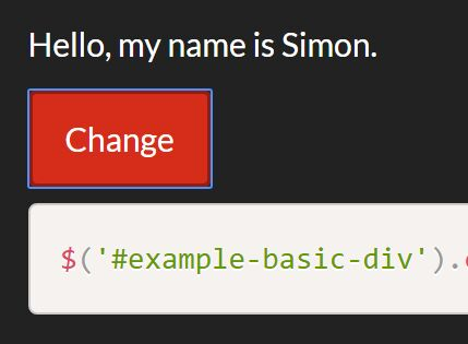 Dynamically Change Element Type With jQuery - changeElementType