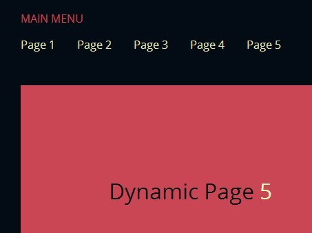 Dynamically Load Content Into A Container with jQuery | Free