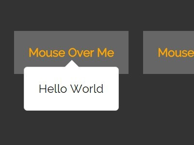 Animated & Customizable jQuery Tooltip Plugin - darktooltip