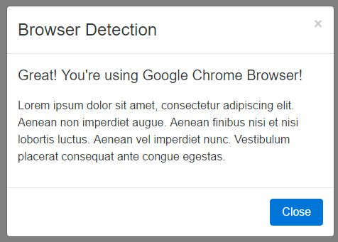 Easy Browser/Device/Feature Detection Plugin For jQuery - checkit.js