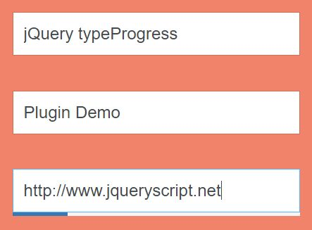 Easy Character Maxlength Indicator Plugin For jQuery - typeProgress