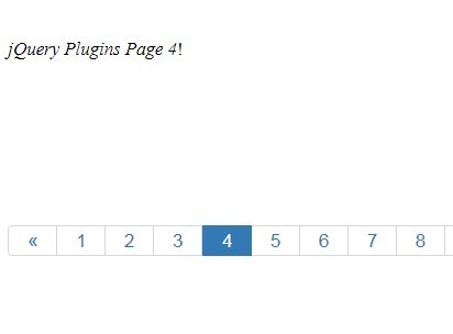 Easy Client Side Pagination Using jQuery Dynapagin Plugin