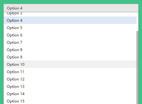 Easy Customizable jQuery Dropdown Menu Plugin - VMCSelect
