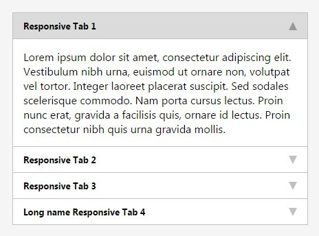 Easy Responsive Tab/Accordion Control Plugin For jQuery