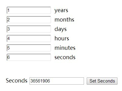 Easy Time Duration Picker Plugin with jQuery and jQuery UI