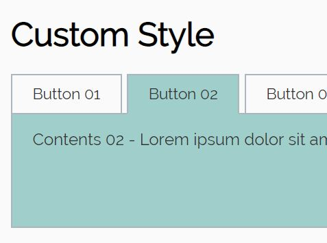 Easy To Style Tabs Plugin With jQuery - SimpleTabs