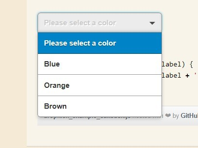 Easy jQuery Based Drop Down Select List - DropKick