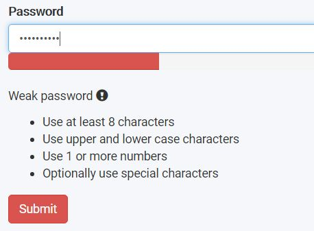 Easy jQuery Password Strength Indicator Plugin For Bootstrap