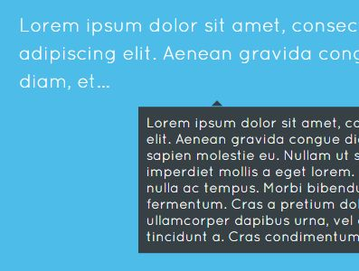 Easy jQuery Text Truncation Plugin With Tooltip Intergrated - shortify