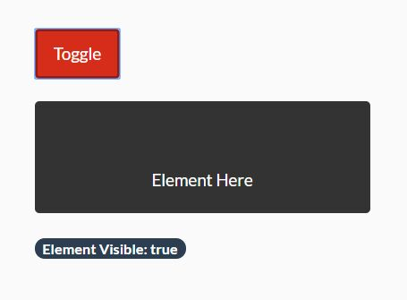 Detect Visibility Change On DOM Element - jQuery HideShow