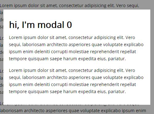 Extremely Lightweight jQuery Modal Window Plugin - icy-modal