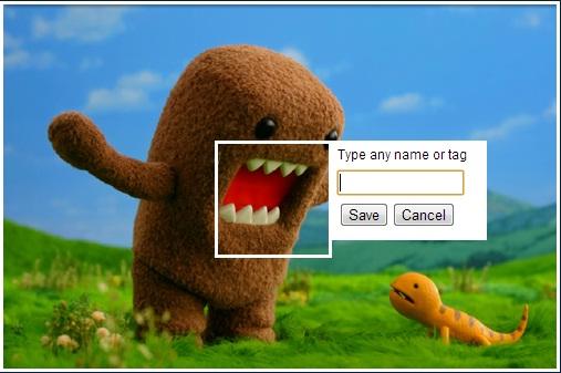 Facebook-Like Photo Tagging Plugin