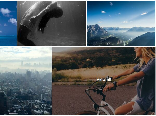 Facebook-like Photo Grid Plugin With jQuery - images-grid