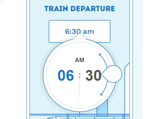 Fancy Clock-style Time Picker Plugin For jQuery - Timedropper