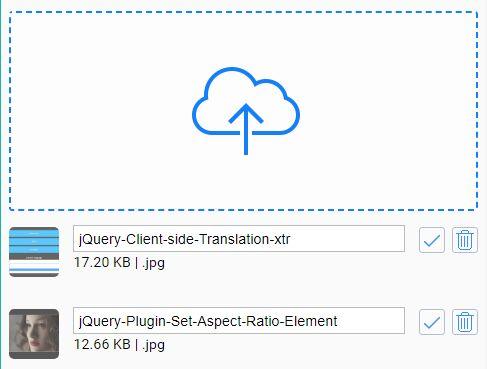 Fancy Responsive File Uploader For jQuery - FancyFileUpload
