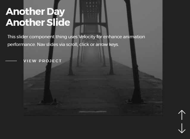Fashion Interactive Slider With jQuery And Velocity - Velo Slider